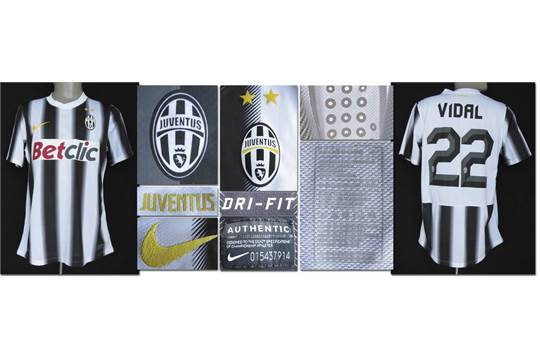 outlet store 991fe 7262d match worn football shirt Juventus Turin 2012 - Original ...