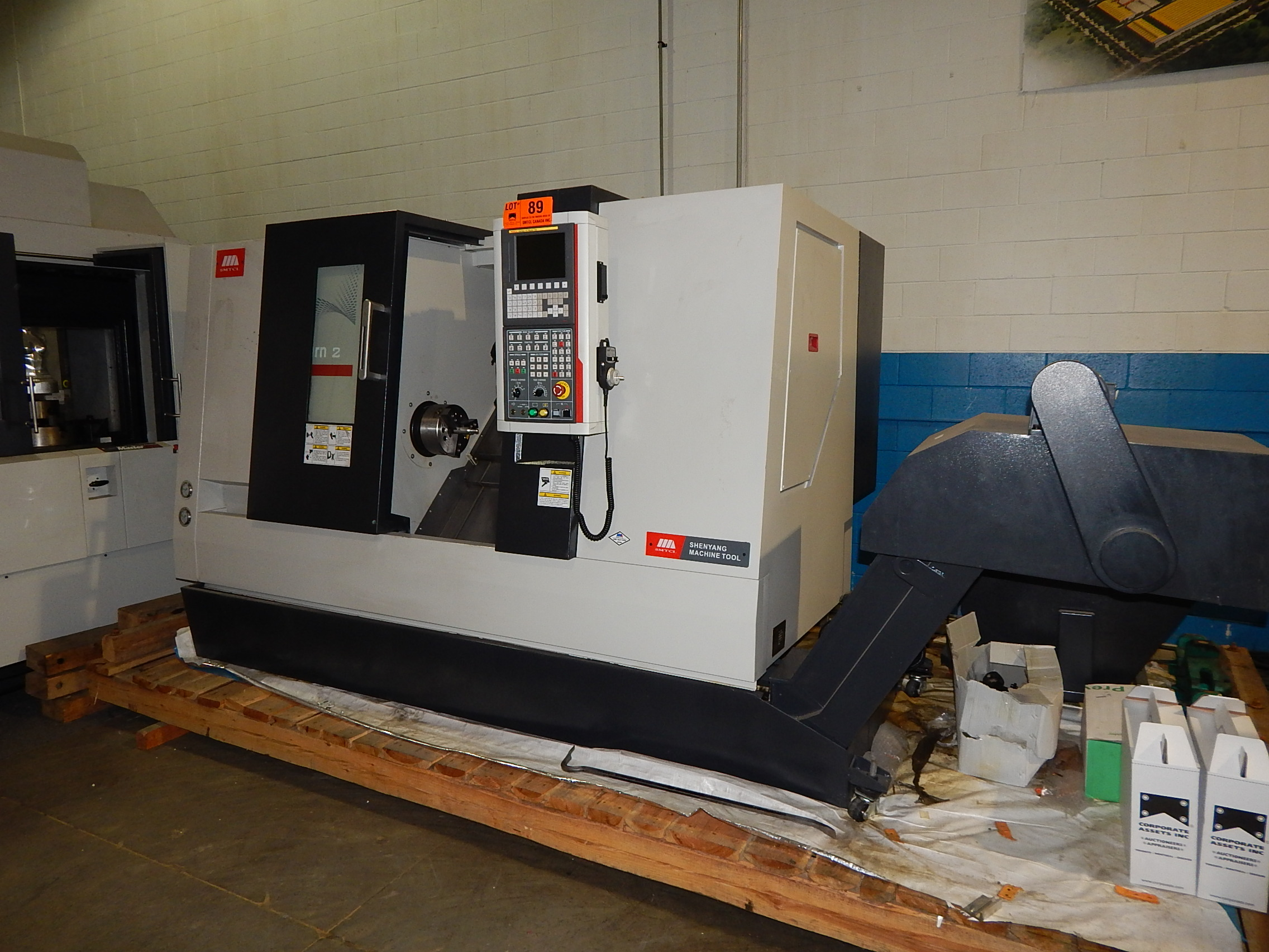 SMTCL (2014) VIVA T2C/500 CNC TURNING CENTER WITH FANUC 0I MATE-TD ...