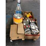 1 LOT TO CONTAIN ASSORTED DIY AND BUILDING MATERIALS / INCLUDING BLOCK PAVING SEAL CLEAR DRIVEWAY