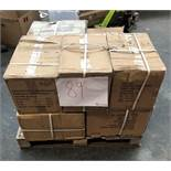 1 LOT TO CONTAIN ASSORTED BLACK DVD WALL MOUNTS / APPROX 60 / 11.6KG / 45.5 X 29 X 32 (PUBLIC