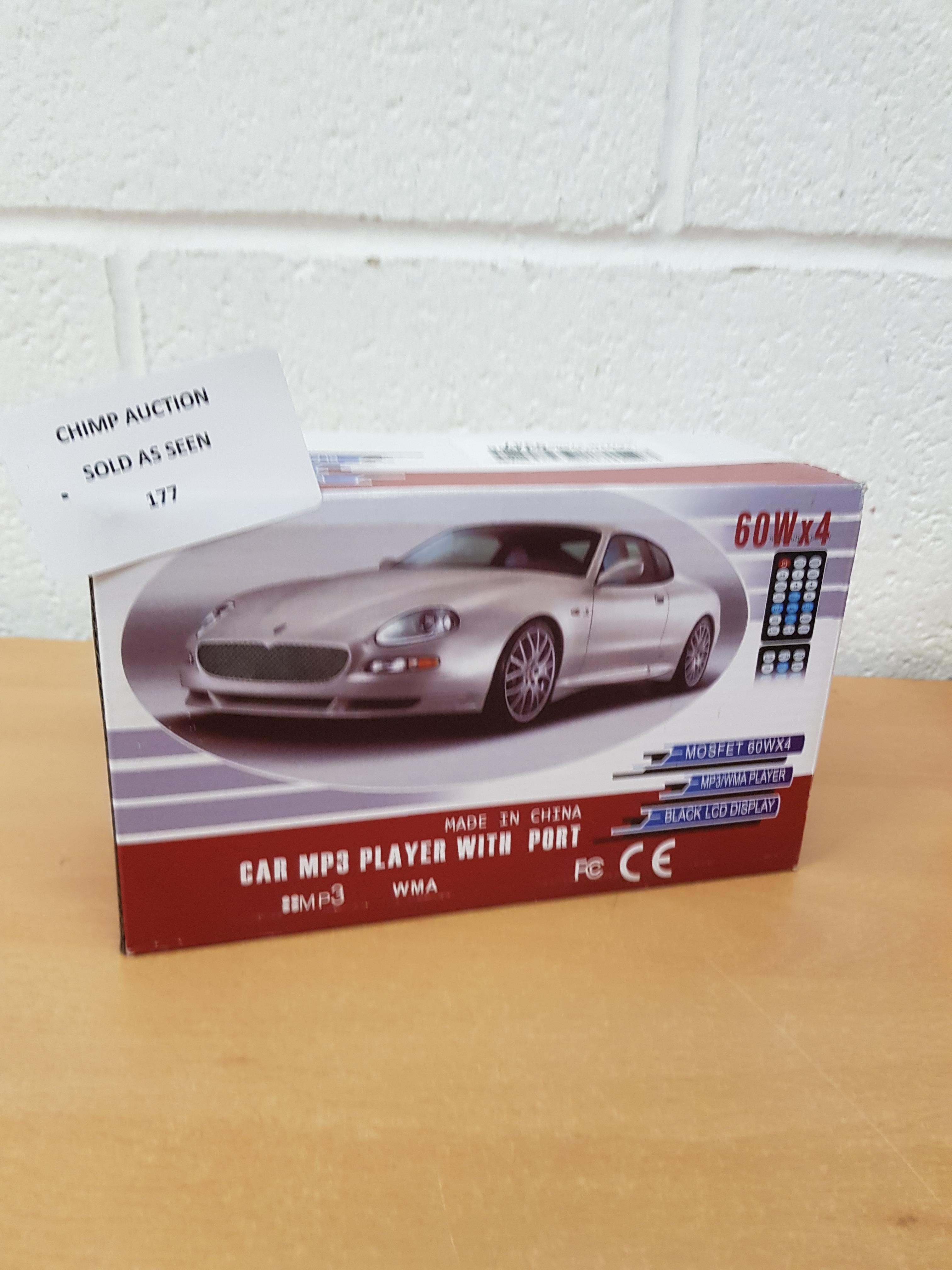 Lot 177 - Car MP3 media in-car system