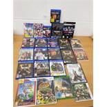 Joblot of mixed Console games inc PS4, Nintendo Switch