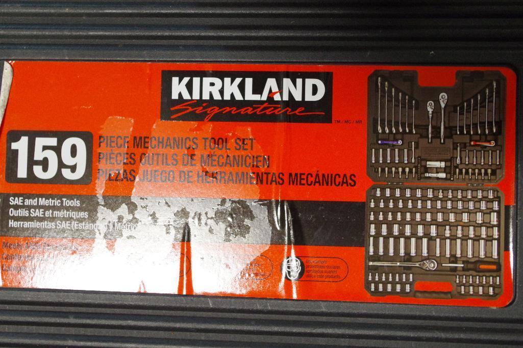 Lot 69 - KIRKLAND SIGNATURE 159-Piece Mechanics Tool Set SAE & Metric (Appears NEW)