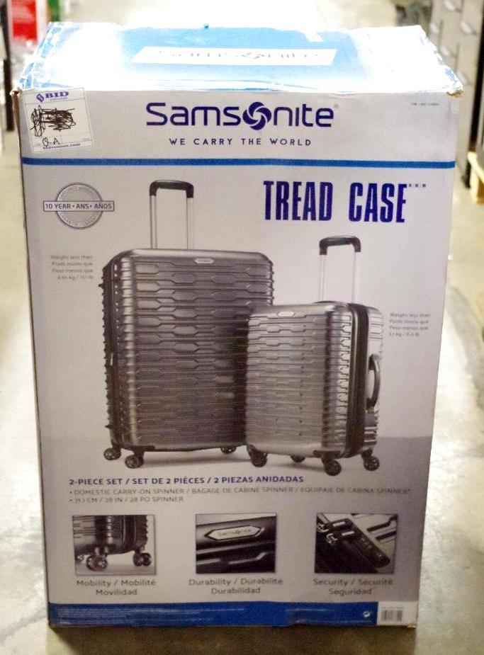 Lot 76 - SAMSONITE 2-Piece Luggage Set