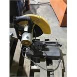 DeWalt chop saw, damaged handle