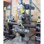 EXCELLO VERTICAL MILLING MACHINE, MODEL 602, S/N 60212011, 575V, 2HP, 85 TO 4,000 RPM, ANILAM DRO,