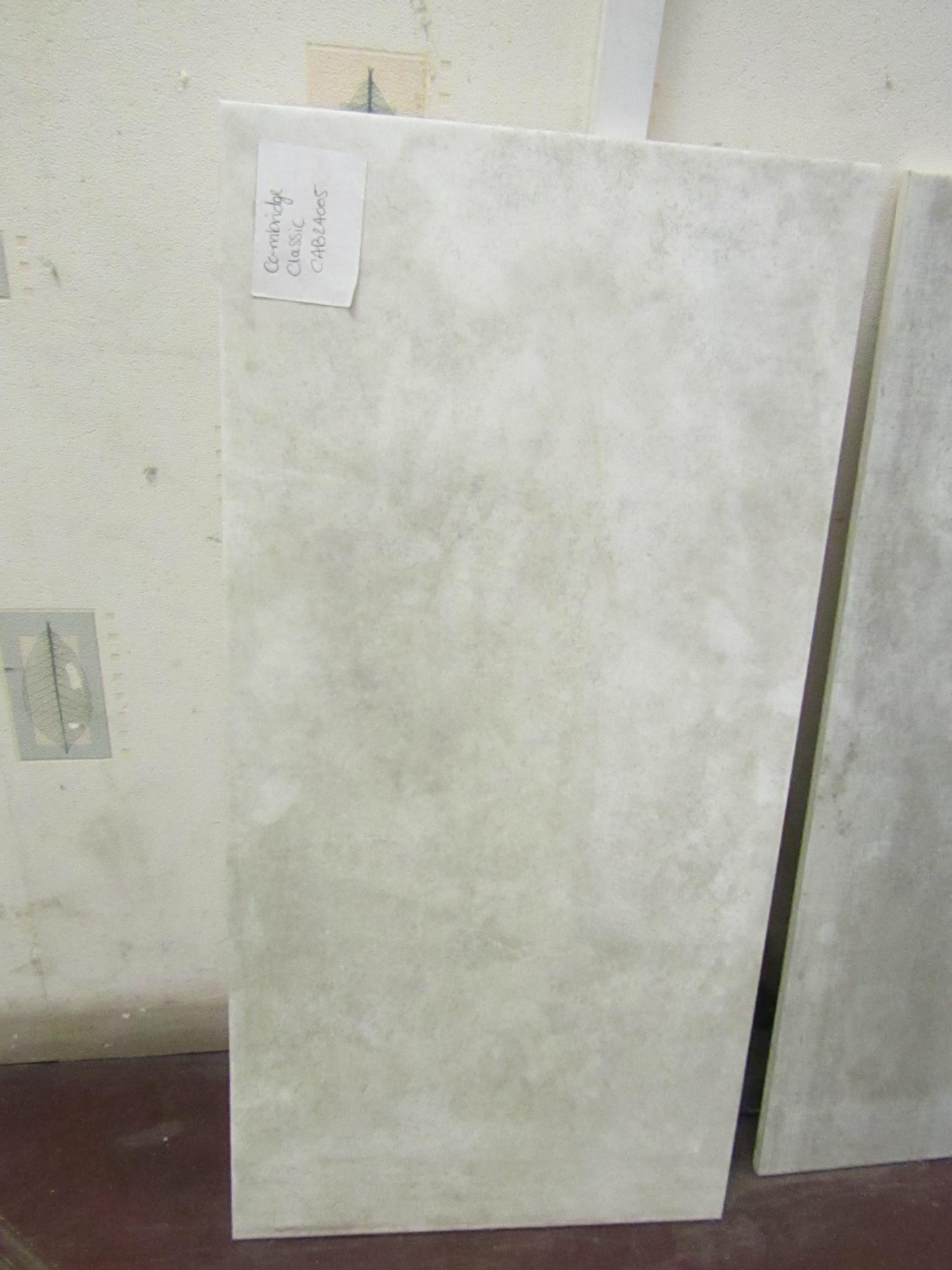 Lot 15 - 10x Packs of 5 Aslar White 300x600 wall and Floor Tiles By Johnsons, the RRP per pack is œ34.99
