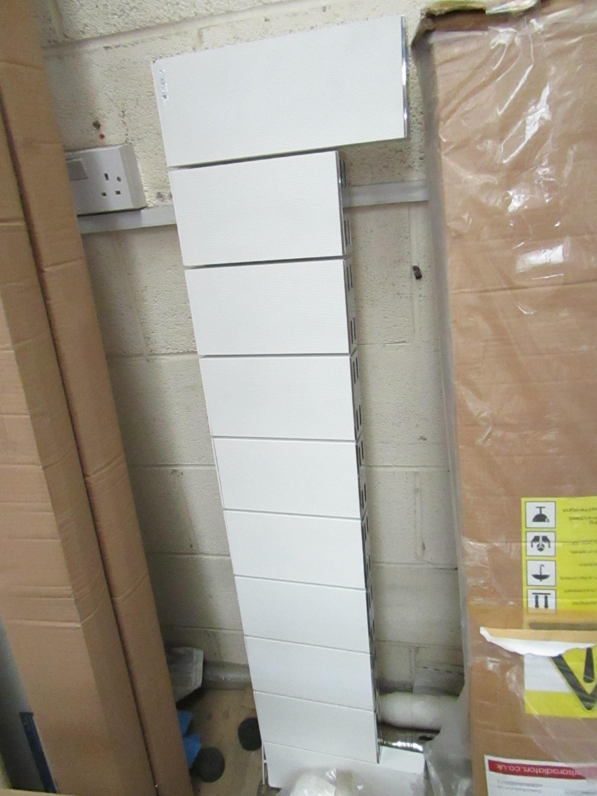 Lot 46 - Carisa Radiators vertical radiator, 1245 x 300, unchecked and boxed.