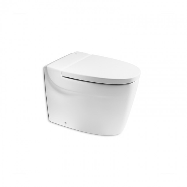 Lot 3 - Roca Khroma toilet pan (no seat), new and boxed. RRP with seat £456.99