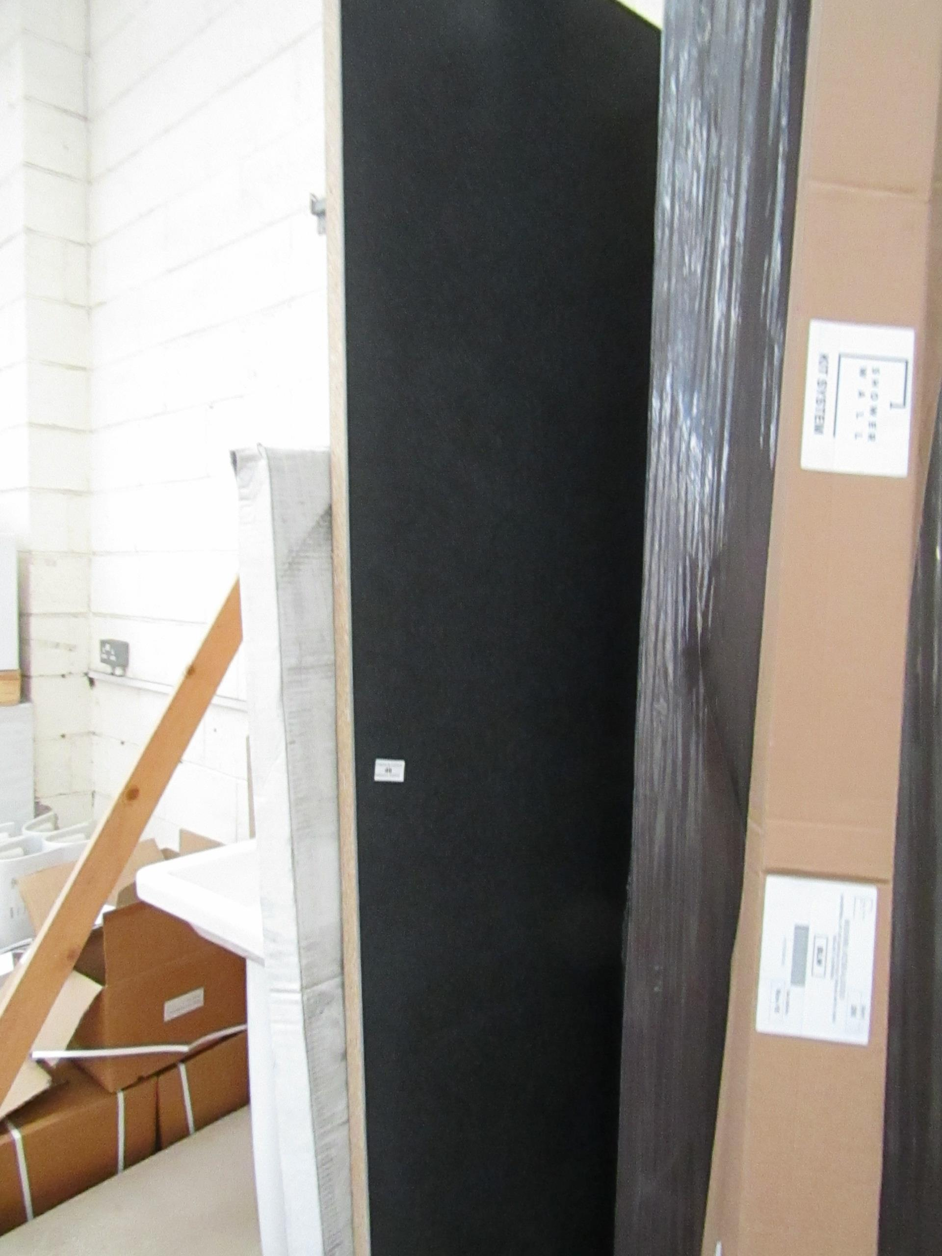 Lot 49 - Work Top Panel - 2400x600mm Includes 2 Shower Wall Kit Systems - New.