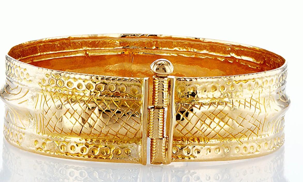 22 KT Yellow gold bracelet - Image 4 of 5