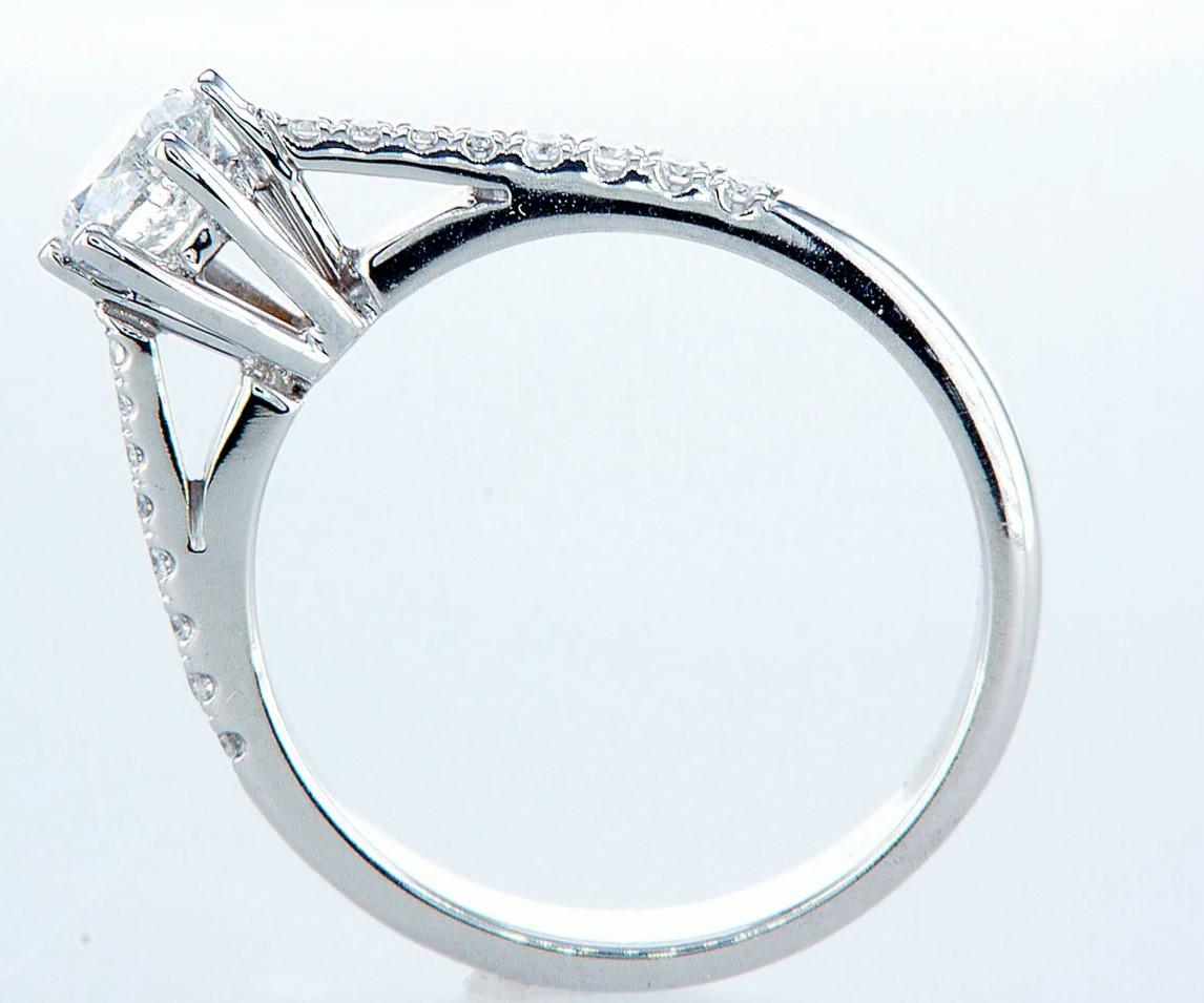18 kt. White gold - Ring - 0.62 ct Diamond - Diamonds - Image 5 of 6