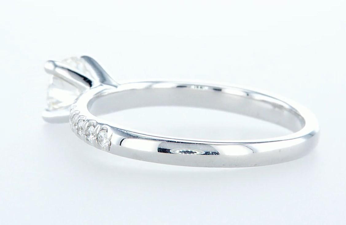 14 kt. White gold - Ring - 0.68 ct Diamond - Diamonds - Image 4 of 6
