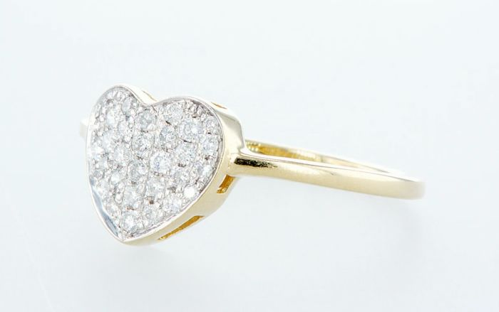 14K Yellow gold ring 0.31CTW - Image 3 of 3