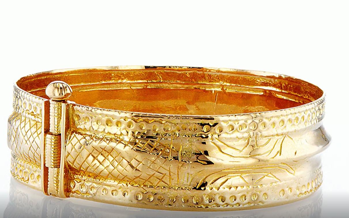 22 KT Yellow gold bracelet - Image 5 of 5