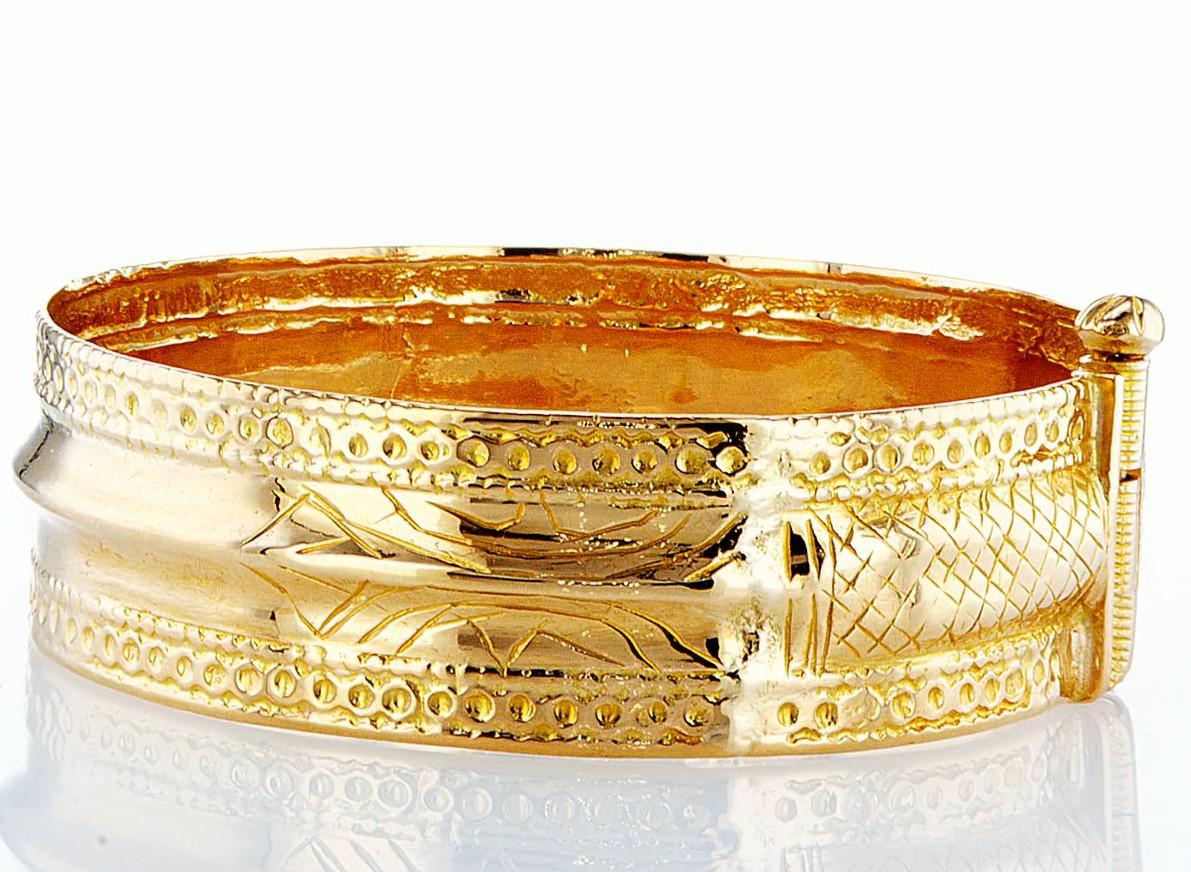 22 KT Yellow gold bracelet - Image 3 of 5