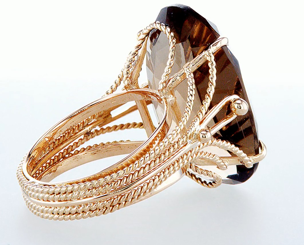 14 kt. Rose gold - Ring Diamond-26.80CTW - Image 6 of 6