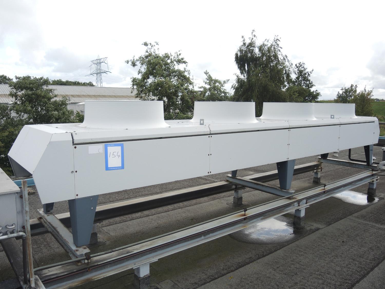 Helpman roof condenser model: condor 4 fans dimensions: 6000 mm x  #436088