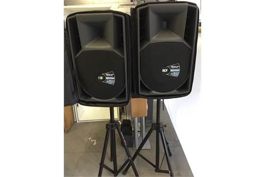 RCF SPEAKERS - pair of RCF ART 715A MKII 15
