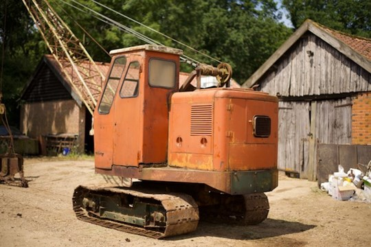 Lot 23 - A Priestman drag line excavator, model CUBMKV, year 1964, serial no.