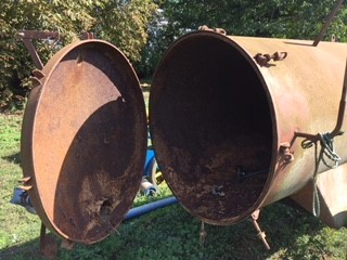 Lot 17 - Slurry bowser, appears to have no holes,
