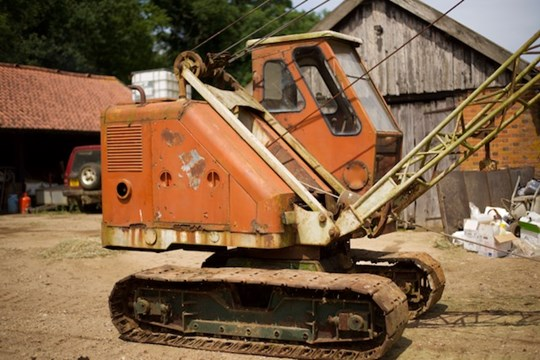 Lot 23 - A Priestman drag line excavator, model CUBMKV, year 1964, serial no.