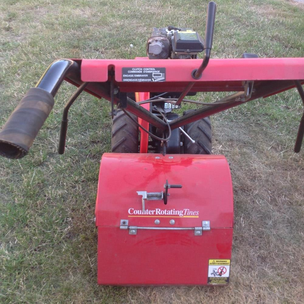 Lot 26 - Rally rotavator with 5HP Briggs and Stratton engine, unused for past 2 years. Stored near Beccles.