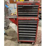Husky 8-Drawer Rolling Tool Chest with 10-Drawer Stack Tool Box