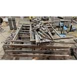 Lot-Unassembled Scaffolding with (2) Pics