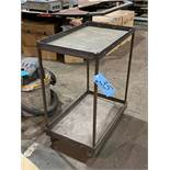Steel 4-Wheel Shop Cart
