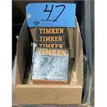 Lot-(4) Timken Bearings in (1) Box