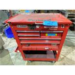 US General 5-Drawer Flip Top Rolling Tool Chest
