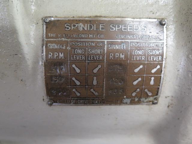 "Lot 28 - LeBlond 15"" Engine Lathe s/n NA1855 w/ 100-565 RPM, 8"" 3-Jaw Chuck"