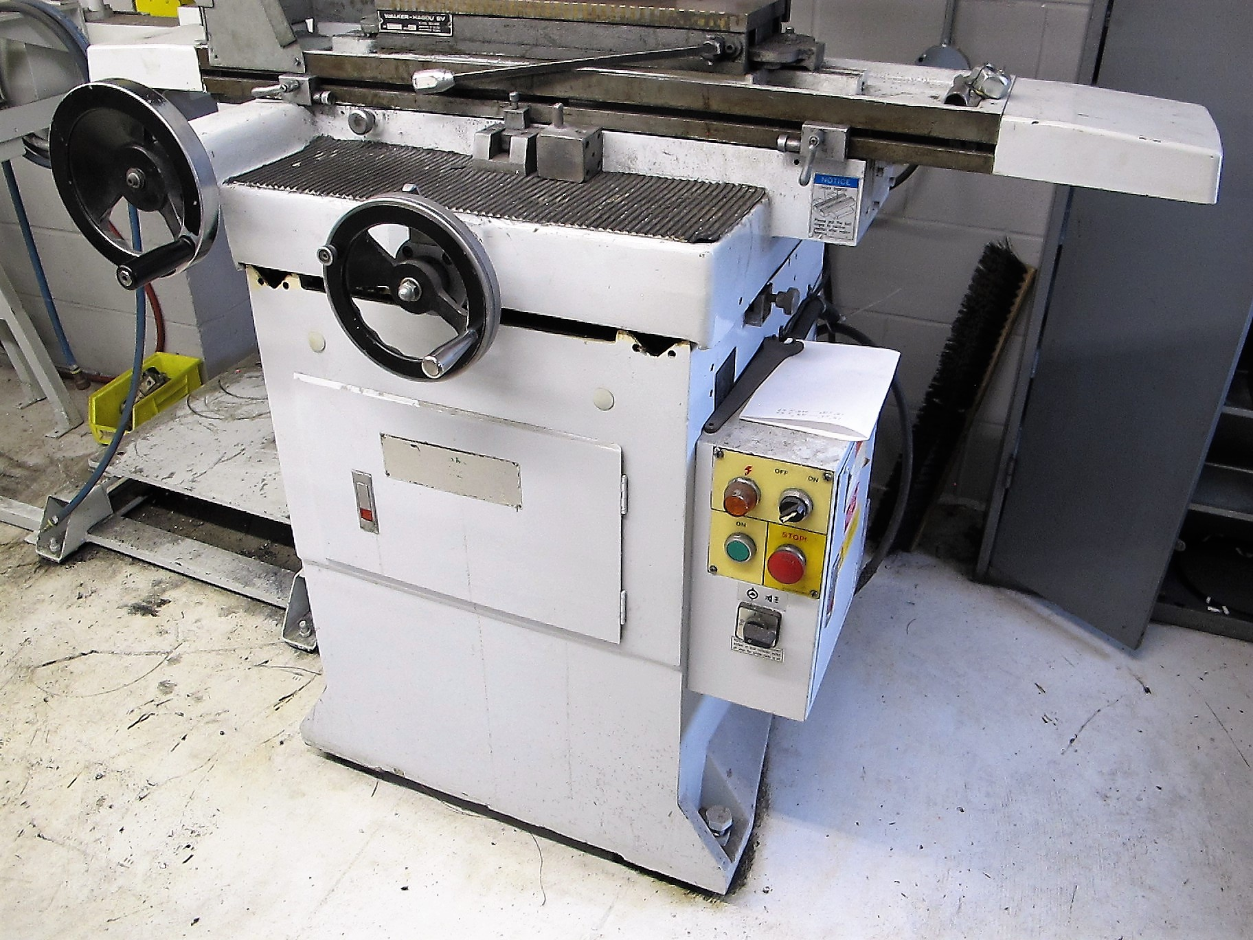 """CHEVALIER FSG-618M SURFACE GRINDER W/WALKER GAOU MODEL 20 MAGNETIC SURFACE PLATE, 6""""D X 18""""L - Image 3 of 5"""