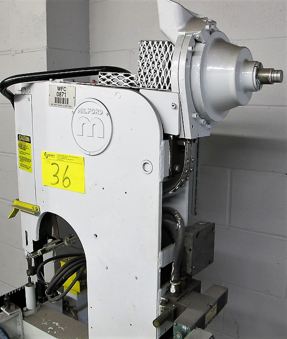 MILFORD MODEL 57, PNEUMATIC INSERTION PRESS, S/N 3166 - Image 2 of 4