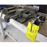 "LOT OF 3 MACHINE VISES (2 - 6"" AND 1 - 2 1/2"")"