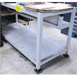 LOT OF 4 SHOP BENCHES (DIFFERENT SIZES)