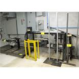 LOT OF 4 STRESS TEST STATIONS W/PLATFORMS AND CONTROLS
