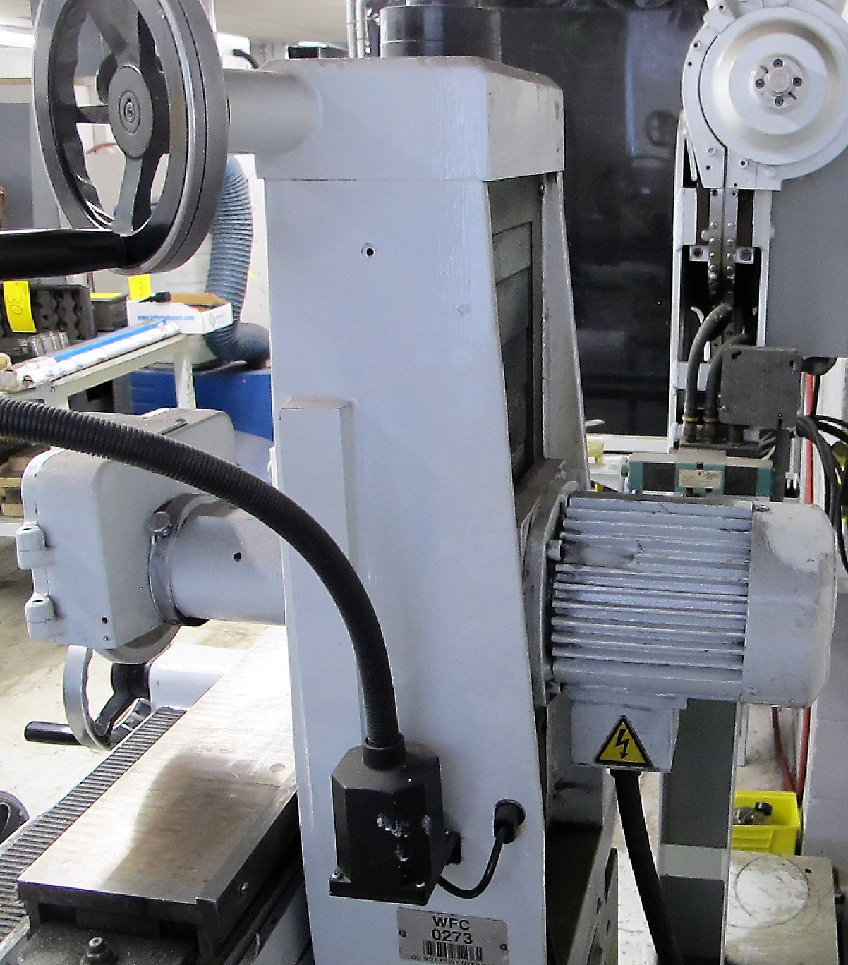 """CHEVALIER FSG-618M SURFACE GRINDER W/WALKER GAOU MODEL 20 MAGNETIC SURFACE PLATE, 6""""D X 18""""L - Image 4 of 5"""