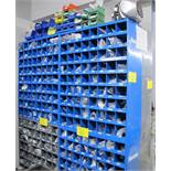 LOT OF 4 FASTENAL CABINETS W/FASTNER STOCK