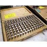 """PIN GAUGE KIT MIP3 .501 TO .625"""""""