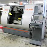 "MAXIMART VMC-850 CNC VERTICAL MACHINING CENTER, 20-ATC, MITSUBISHI CONTROL, 18"" X 39"" TABLE, 3"""