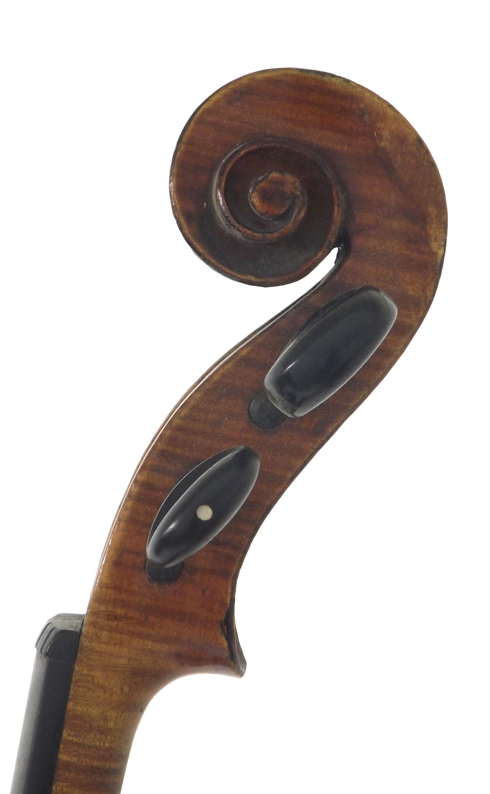 French violin labelled Fini Sous la Direction de Caressa & Francais, Luthiers du Conservatoire, 4, - Image 3 of 3