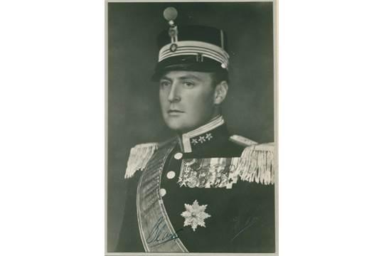 OLAV V 1903 1991 King Of Norway 1957 91 Vintage Signed 75 X 11