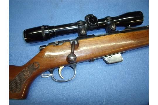 Marlin Firearms Co  22LR bolt action rifle with detachable