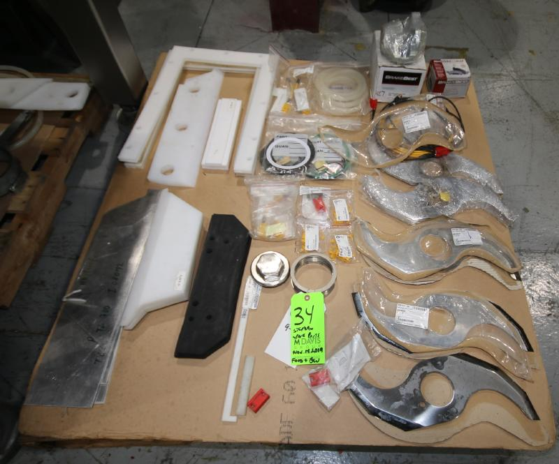 Stephan Batch Mixer Spare Parts including New Blades, Brake Parts, Seals, Gaskets, Etc. on (1)