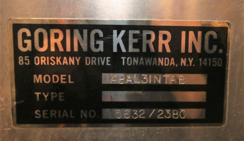 """Goring Kerr Aprox. 4 ft. L x 33"""" H x 3"""" W Belt Aluminum Conveyor Section (Located in Pittsburgh, - Image 4 of 4"""