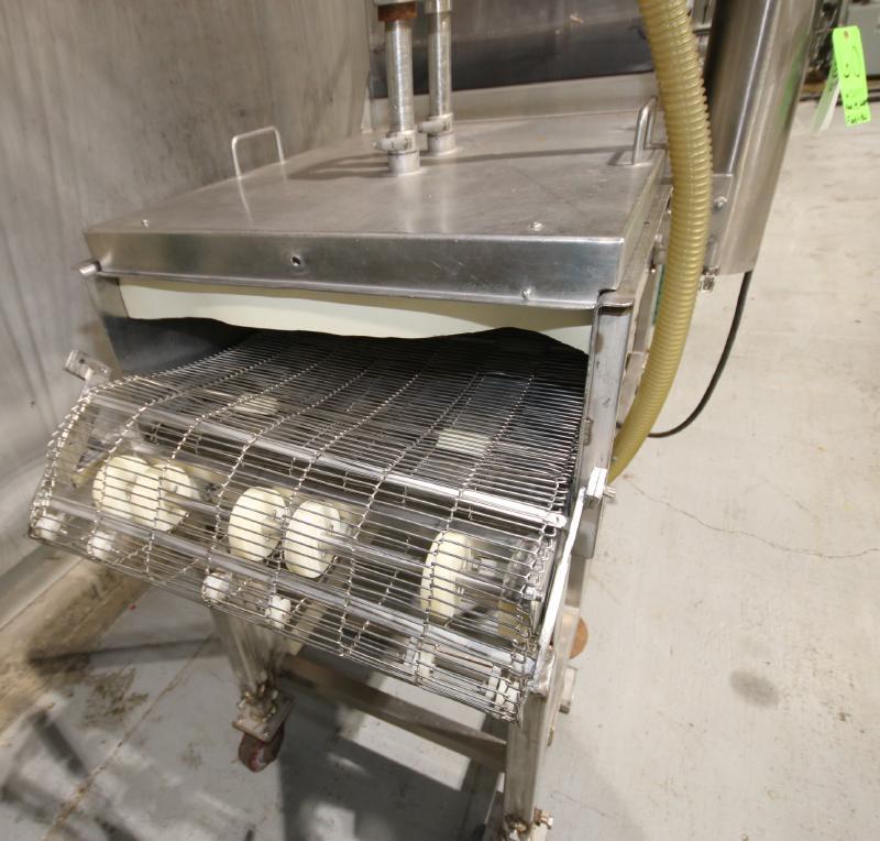Koppens Batter/Breader, Type EPR600, Machine #PR600-M-1036, 220 V, 3 Phase, Variable Speed Drive, - Image 3 of 10