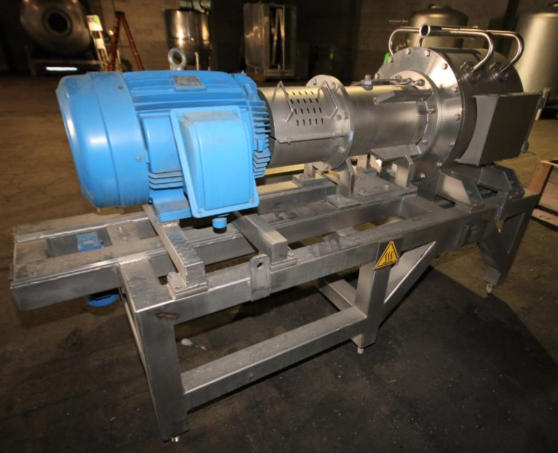 """2008 Rossi & Catelli S/S Cold Extractor, Type GIUBILEO Short, Model ESTRATTORE, S/N 23177 with 3"""" - Image 5 of 7"""