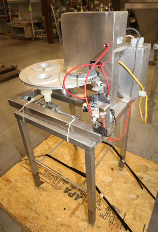 """Squire International Packaging 4-Station Rotary Sealer with 3-1/4"""" Change Parts and Controls, - Image 5 of 5"""